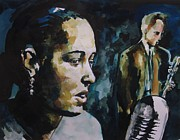 Billie Painting Originals - Billie Holiday by Matthew OHanlon