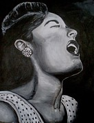 Billie Painting Originals - Billie Holiday by Otis Zeon