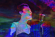 Rendition Prints - Billie Holiday - Queen of the Blues Print by Jack Zulli