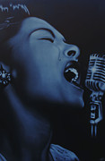 Billie Holiday Prints - Billie Print by Nicko Gutierrez