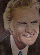 Anne-Elizabeth Whiteway - Billy Graham portrait by my Father