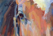 Thoroughbred Race Paintings - Billy by Kimberly Santini