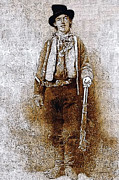 Billy The Kid Posters - Billy The Kid 20130211v3 Poster by Wingsdomain Art and Photography