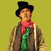 Billy The Kid Posters - Billy The Kid 20130518 square Poster by Wingsdomain Art and Photography