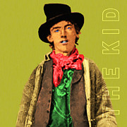 The Kid Posters - Billy The Kid 20130518 square with text Poster by Wingsdomain Art and Photography
