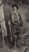 Lawmen Prints - BILLY the KID c. 1879 Print by Daniel Hagerman