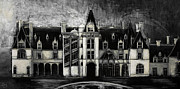 Asheville Painting Prints - Biltmore House Print by Gray  Artus
