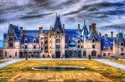 Asheville Painting Framed Prints - Biltmore House Framed Print by Lynne Jenkins