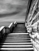 Stairway To Heaven Prints - BILTMORE STAIRS Asheville NC Print by William Dey