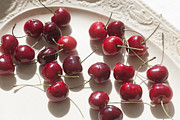 Cherries Prints - Bing Cherries Direct Sunlight Print by Rich Franco