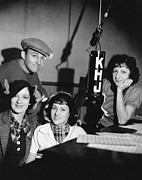 Bing Art - Bing Crosby & Boswell Sisters by Underwood Archives