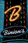 Escalator Framed Prints - Binions - Downtown Las Vegas Framed Print by Jon Berghoff
