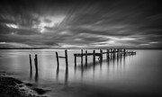 Nigel Hamer - Binstead Hard Jetty BW