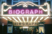 Biograph Posters - Biograph Movie Theater in Chicago Poster by Robert Birkenes
