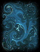 Dizzy Art Posters - Bioluminescence Poster by Mike Grubb