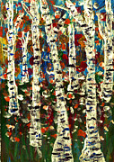 Branko Jovanovic Art - Birch by Branko Jovanovic