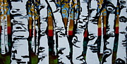 Amy Sorrell - Birch trees