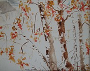Terry Godinez - Birch Trees in the fall
