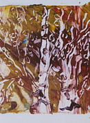 Claudia Smaletz Metal Prints - Birches in Autumn Winds Metal Print by Claudia Smaletz