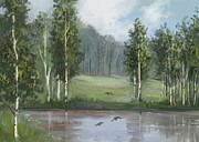 Tancau Emanuel - Birches Near  The Pond