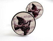 Nature Inspired Jewelry - Bird Cufflinks by Rony Bank