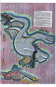 Criticism Painting Prints - Bird Flu Print by  Picarson