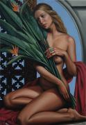 Temptress Paintings - Bird of Paradise by Bird of Paradise