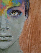 Make-up Girl Posters - Bird of Paradise Poster by Michael Creese