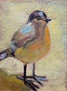 Donna Shortt Painting Metal Prints - Bird Right Metal Print by Donna Shortt