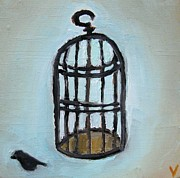Decorating Mixed Media - Birdcage by Venus