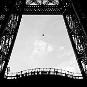 Paris Photo Prints - Birds-Eye View Print by David Bowman