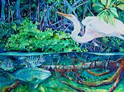 Birds Of A Feather Print by Kevin Peterson