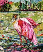 Ginette Callaway - Birds of Florida Roseate Spoonbill