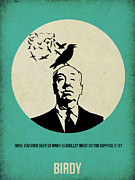 Hitchcock Posters - Birds Poster Poster by Irina  March
