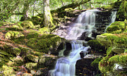 Jason Politte Prints - Birks of Aberfeldy Cascading Waterfall - Scotland Print by Jason Politte