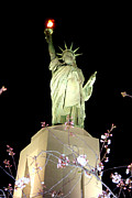 Birmingham Alabama Statue Of Liberty Replica Print by Kathy  White