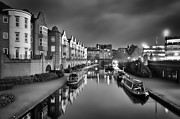 Print Box Framed Prints - Birmingham Basin Framed Print by Jason Green