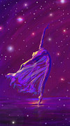 Dancer Digital Art Prints - Birth Of The Cosmos Print by Jane Schnetlage