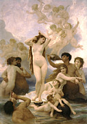 William Bouguereau - Birth of Venus