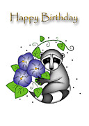 Jeanette K - Birthday Raccoon
