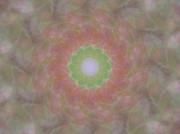 Birthing Mandala 1 Print by Rhonda Barrett