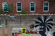 Mural Photo Posters - Bisbee Arizona Graffiti Poster by Dave Dilli