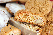 Biscotti Photos - Biscotti background by Sylvie Bouchard