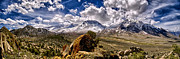 Mountains Posters - Bishop California Poster by Cat Connor