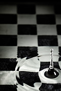 Chess Game Prints - Bishop Print by Nathan Wright
