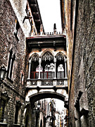 Spanien Photos - Bishops Street - Barcelona by Juergen Weiss