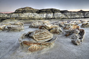 Unusual Landscape Posters - Bisti/De-Na-Zin Wilderness 1 Poster by Bob Christopher