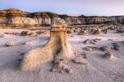 Unusual Landscape Posters - Bisti/De-Na-Zin Wilderness 7 Poster by Bob Christopher