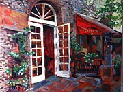 Denver Painting Acrylic Prints - Bistro Vendome  Acrylic Print by Kendal Greer