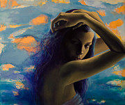 Fantasy Painting Originals - BitterSweet by Dorina  Costras